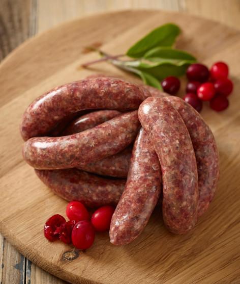 Venison & Cranberry Sausage