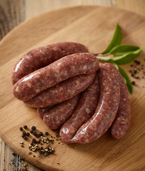 Venison & Black Pepper Sausage