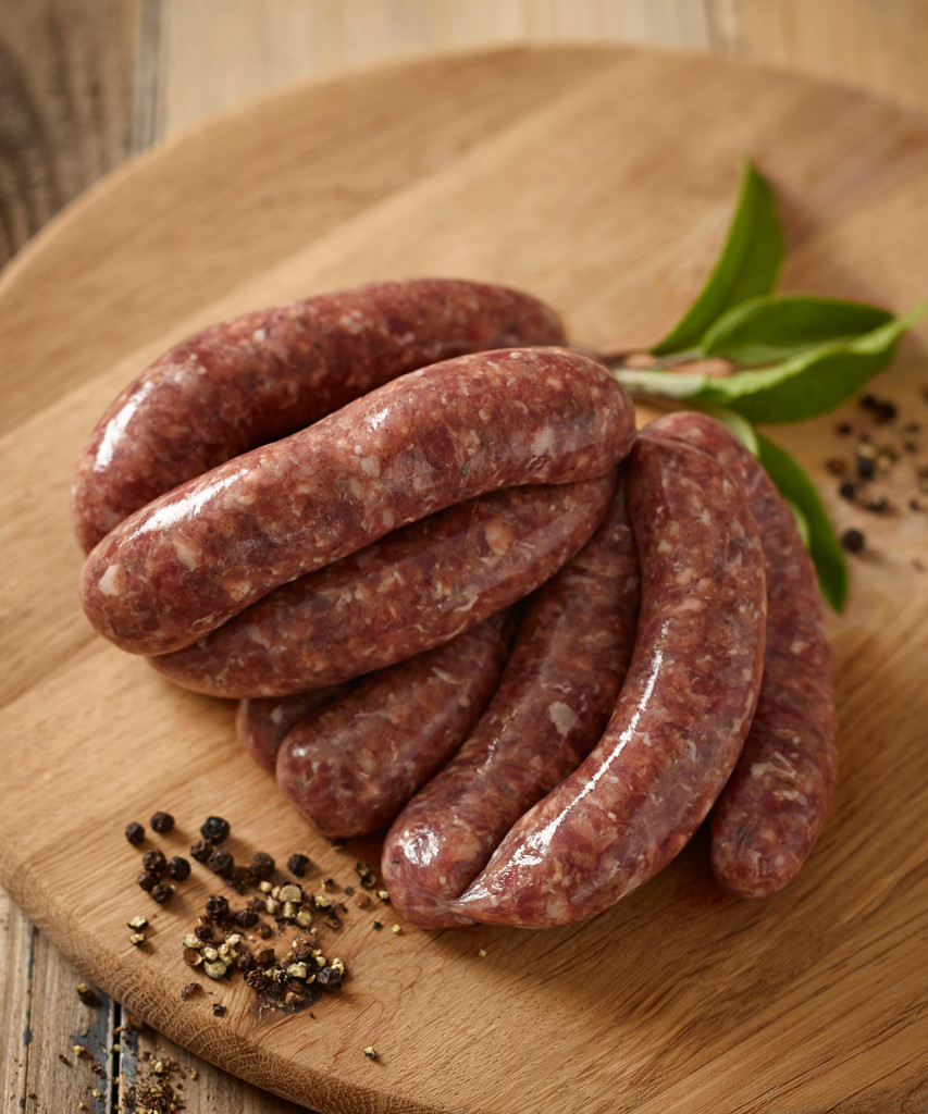 Venison & Black Pepper Sausage