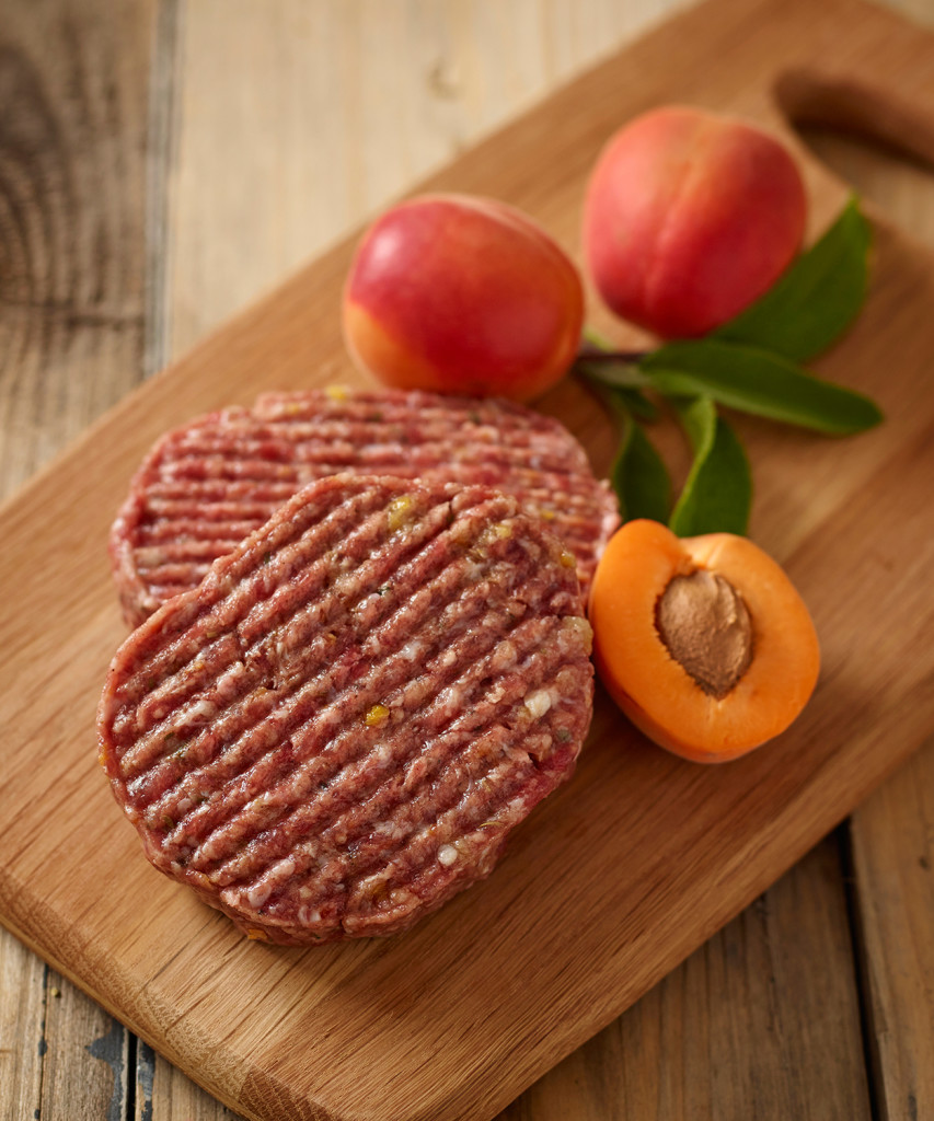 Wild Boar and Apricot Burgers