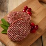 Venison and Cranberry Burger