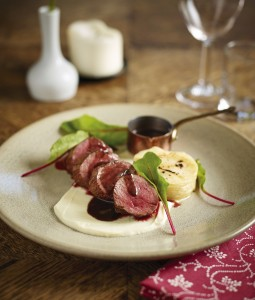 Pan Roast Loin of Venison